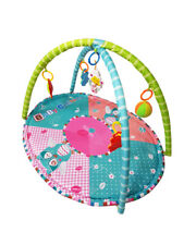 Baby owl adventure gym activity play mat with assorted rattle toys. Free P&P
