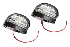 2 x LED Kennzeichenbeleuchtung 12V 24V Anhänger PKW LKW StVO-Zulassung KB32