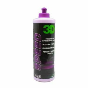 3D HD Speed One Step Polish & Sealant Compound High Gloss Shine AIO 470ml Uno