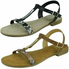 Ladies Clarks Axelle Ray T-Bar Sandals
