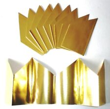 12 Gold Cracker Hats Christmas / Party
