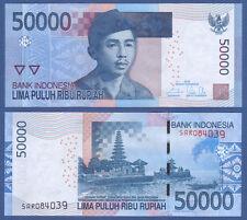 INDONESIEN / INDONESIA 50.000 Rupiah 2005/2016  UNC  P.152 g