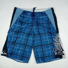 New listing QUIKSILVER Board Shorts Cargo Pocket Unlined Blue Men's Size 34