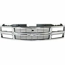 New Grille Chrome And Silver Front for Chevrolet C3500 1994-2002 GM1200238