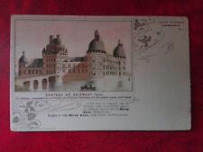 Rare CPA animée - Château de Valençay - Capmartin - 36