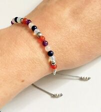 Just Gemstones Depression Anxiety & Stress Healing Balance Bracelet - Adjustable