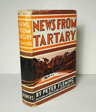 News From Tartary: A Journey from Peking to Kashmir 1936 1st Fleming China India