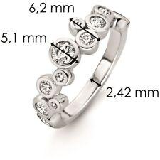 New Genuine Ti Sento Sterling Silver CZ set ring 12051ZI Size 56 £59