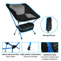 Outdoor Portable Folding Camping Chair Backpacking Hiking BBQ Picnic Seat 0.9KG