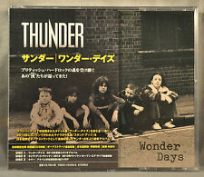 THUNDER Wonder Days JAPAN Triple CD's x3 + BONUS Tracks (LIVE) VQCD-10430 Ltd Ed
