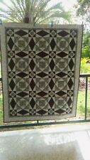SINGLE HAND MADE PATCHWORK QUILT