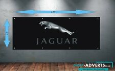 CAR LOGOS JAGUAR 1 - Workshop, Garage, Office or Showroom PVC BANNER - Any size