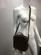 Bonia Xbody bucket purse Dark Brown Leather Serial 803-015-2-3