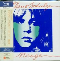 KLAUS SCHULZE-MIRAGE-JAPAN MINI LP SHM-CD BONUS TRACK H25