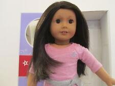 American Girl TRULY ME doll pierced ear dark brown hair eyes medium skin #42