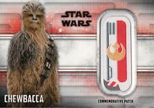 Star Wars The Last Jedi, Chewbacca 'Resistance' Patch Card ME-C