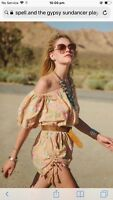 spell and the gypsy collective Sundancer Playsuit M Blush