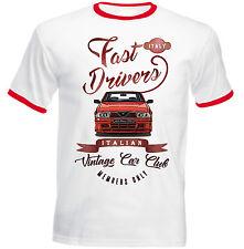 ALFA ROMEO 75 Driver veloci-Nuovo T-shirt Cotone-Tutte le taglie in magazzino