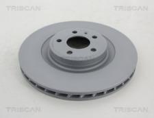 2x Bremsscheibe TRISCAN 8120291019C vorne für AUDI