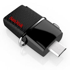 SanDisk OTG 64GB 64G Ultra Dual USB Flash Drive 3.0 Memory For Android 150MB/s