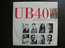 "SP UB 40 ""The way you do the things you do"" Virgin 90637 (1989)"