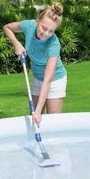 Bestway Balai aspirateur électrique Aquascan à piles pour spa et piscine sol jus