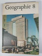 Geographie Klasse 8 DDR Lehrbuch VOLK UND WISSEN VOLKSEIGNER VERLAG 1974