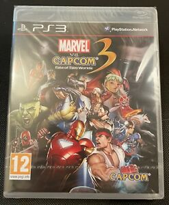 Marvel Vs Capcom 3: Fate Of Two Worlds Playstation 3 New Sealed UK ps3