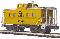 MTH Premier O #90356 C&O Chesapeake & Ohio Steel Caboose Center Cupola 20-91601