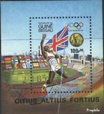 Guinea-Bissau block261 (complete issue) used 1984 Winner olympi