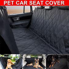 Nonslip Pet Car Back Seat Cover Cat Dog Waterproof Protector Hammock Mat Black