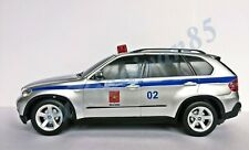 BMW X5. Russian police. Rastar. Radio-controlled car. 1:18. Light and Sound.