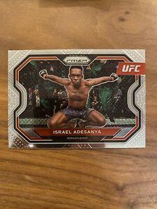 Israel Adesanya 2021 Panini Prizm UFC 1st Panini Card