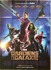 HUGE Original Poster Guardians of the Galaxy French One Sheet 46x63 2014 Film A+