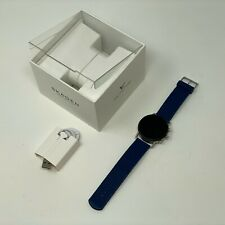 SKAGEN FALSTER 3 BLUE GAUGE MESH WATCH DW10S1