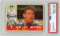 1960 Topps Early Wynn Signed. #1 PSA