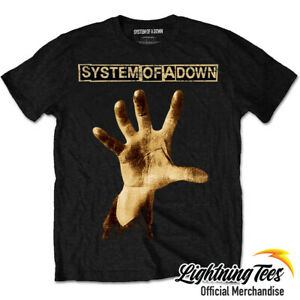 Official System Of A Down Hand Band T-Shirt