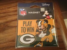 Green Bay Packers 2018 Mickey Mouse Disney Play To Win Magnet Lambeau NFL
