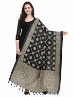 Casual Wear Dupatta Indian Women'S Ethnic Silk Banarasi Wear Dupatta Scarf
