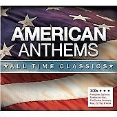 Various Artists - American Anthems (All Time Classics) (3 x CD Box Set 2012) NEW