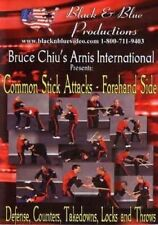 Arnis Common Stick Attacks Forehand Dvd Chiu filipino martial arts counters