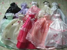 lot barbie doll clothes dresses accessories 5 dresses 5 outfits 5 small dresses1