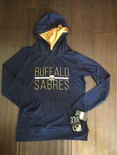Buffalo Sabres NEW Womens Medium Recovery Hooded L/S TShirt . NHL Hockey NWT Tee