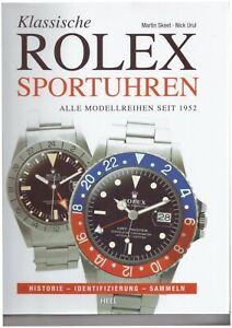 """Buch """"Rolex Sportuhren"""", alle Modelle seit 1952, 180 Seiten, wie neu, Sammler."""
