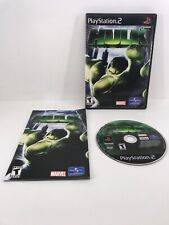 2003 SONY PLAYSTATION PS2 HULK VIDEO GAME ACTION/ADVENTURE T-TEEN
