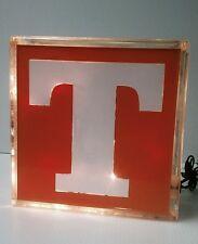 Lighted University of Tennessee Glass Block Light~ Home Decor~Gift~Lamp