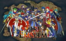 Fire Emblem - The World -  Wall  Poster 24 in x 15 in ( Fast Shipping )