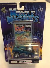 Muscle Machines Cartoons '70 Plymouth Cuda CO2-18 Sealed
