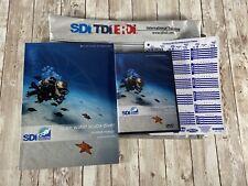 Sdi-Scuba Diving International Open Water Diving Student Dvd And Workbook Manual