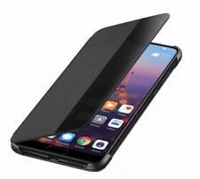 Original Huawei P20 Pro Smart View Flip Cover Case Tasche Schutzhülle schwarz